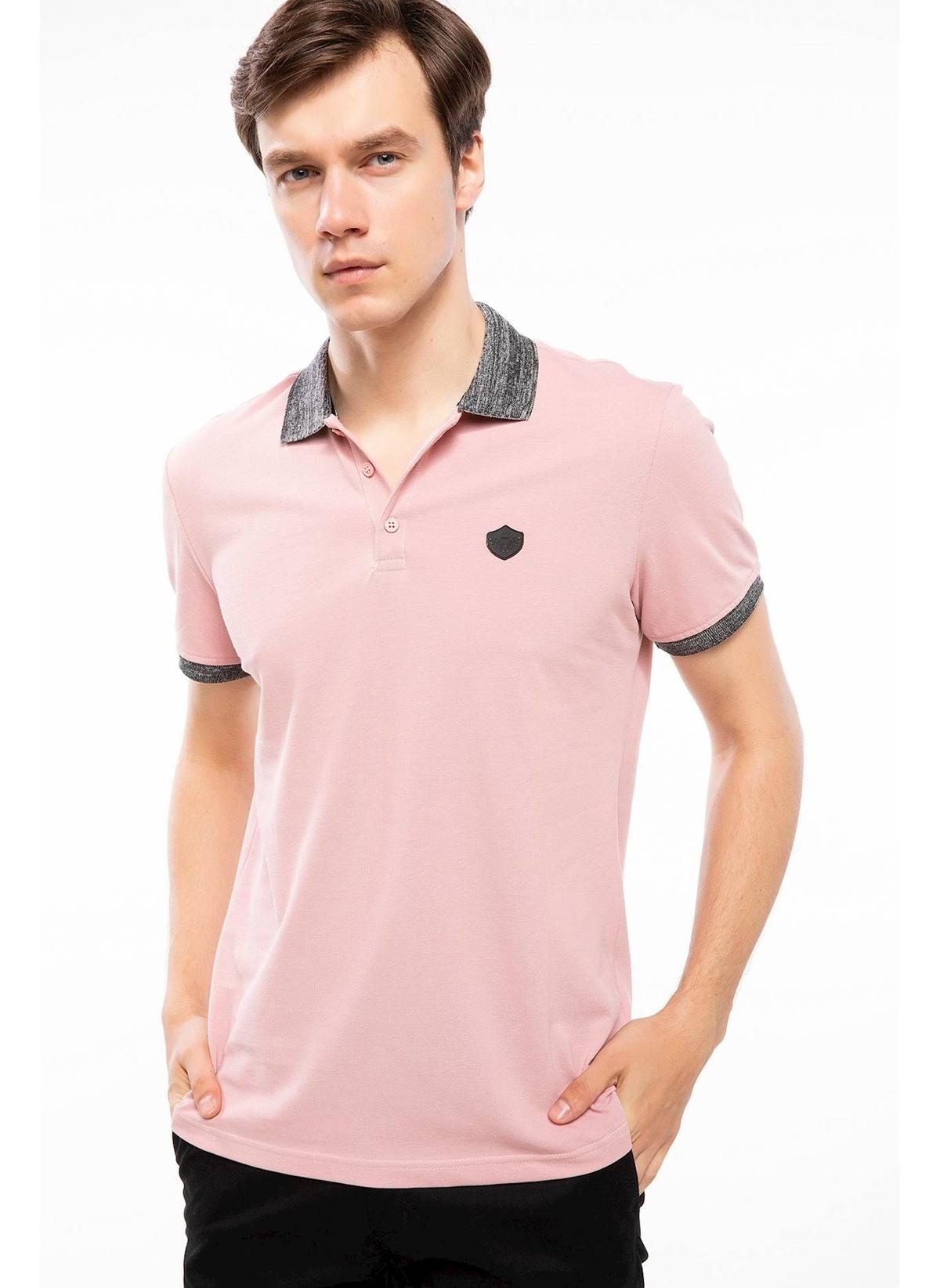 Defacto Yaka Detaylı Slim Fit Polo T-shirt J8359az18hspn368t-shirt – 29.99 TL